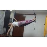 aula de pilates aéreo Vila Gomes