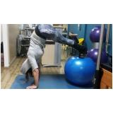 aula de pilates com bola preço Inocoop