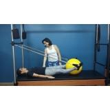 aulas de pilates com a bola Vila Olímpia