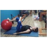 clínicas de pilates com bola Chácara Itaim