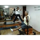 clínicas de pilates para idosos Vila Cordeiro