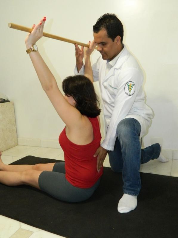 fisioterapia para a coluna cervical Vila Anglo