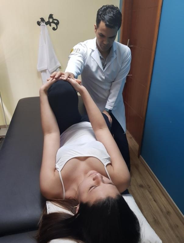 fisioterapia para a coluna lombar Jardim Caxinguí
