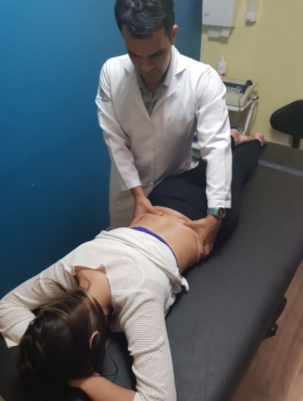 fisioterapia para a coluna lombar