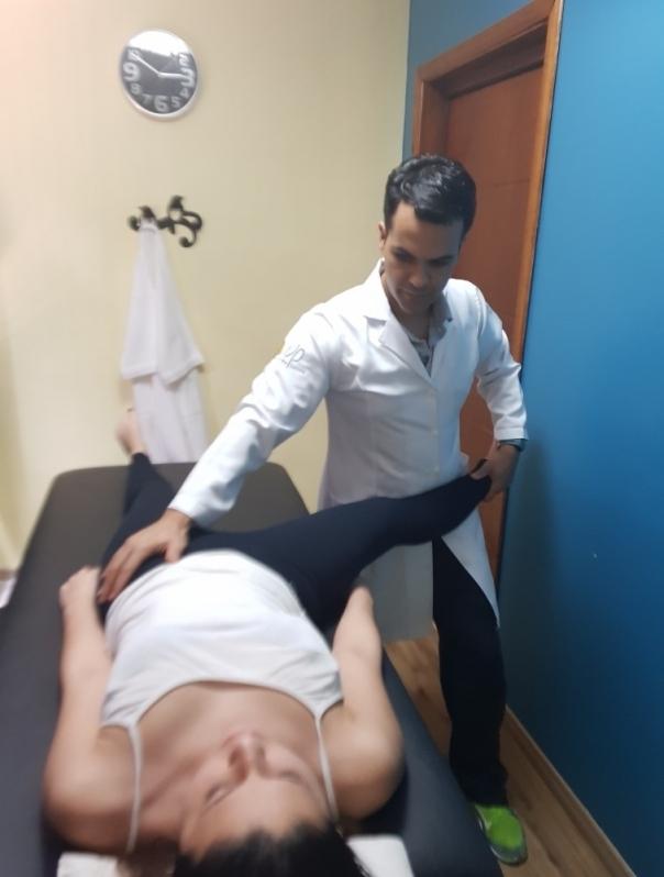 fisioterapia para ombro bursite