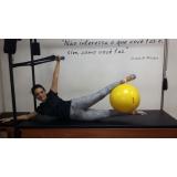 onde encontrar aula de pilates com a bola Previdência