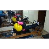 onde encontrar clínica de pilates com bola Jardim Vera Cruz
